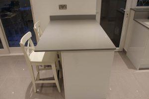 grigio chiaro pura quartz kitchen worktops