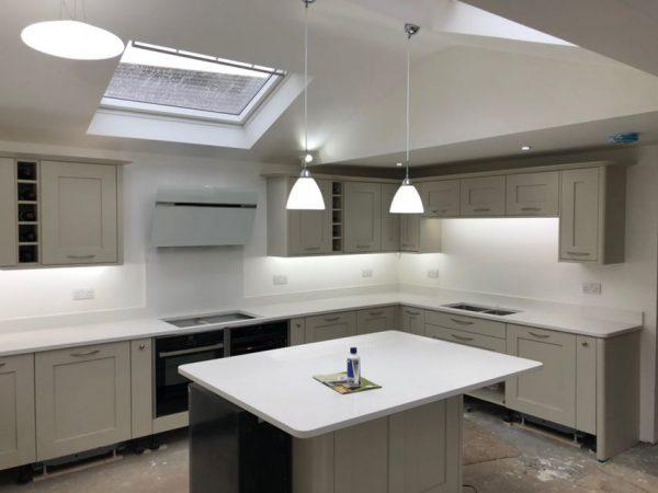 bianco marmo suprema quartz kitchen worktops