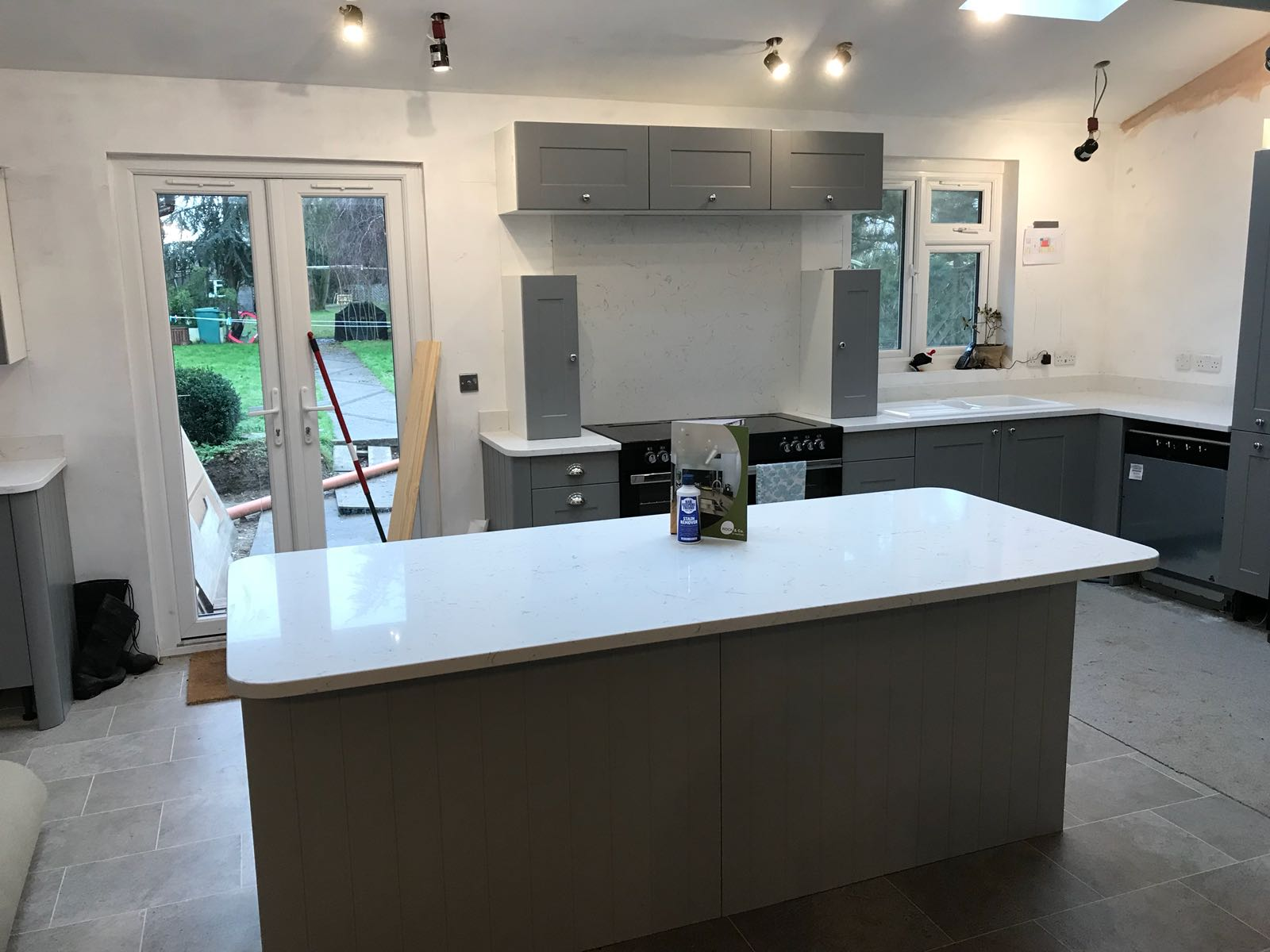 Kitchen of the week… Located in Little Hallingbury, Herts, showcasing the Carrera 30mm
