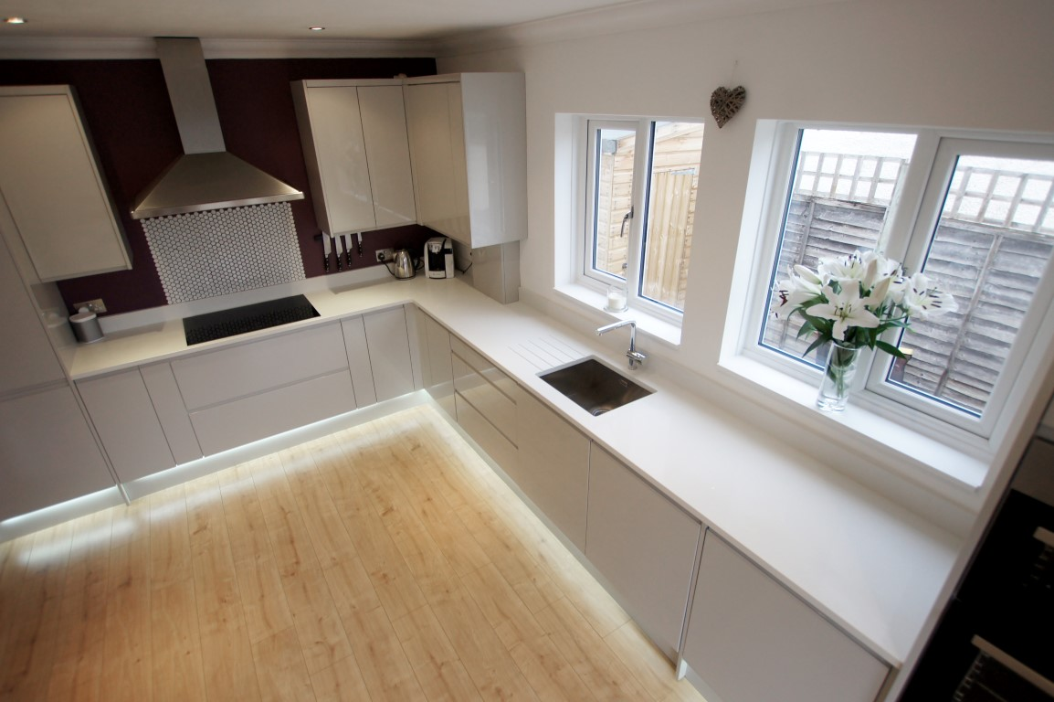 Lay out cupboards and cabinets in the kitchen to suit your lifestyle