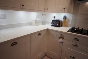 attica white carrera quartz worktops st albans kitchen rockandco