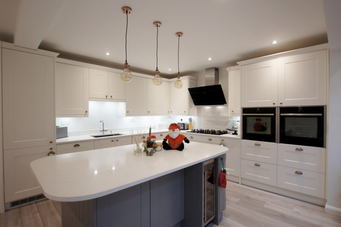 Kitchen of the week… Located in St Albans, Herts, showcasing the Attica White Carrera