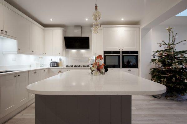 attica white carrera quartz worktops st albans kitchen rockandco
