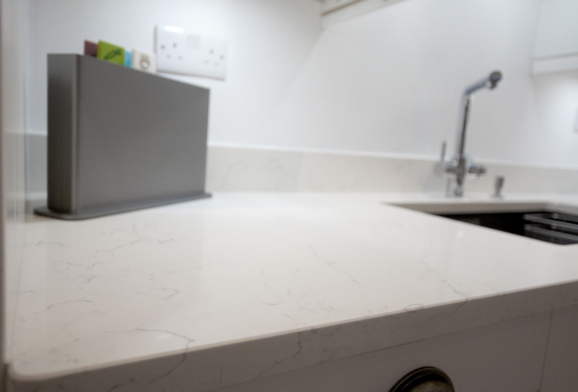 Attica White Carrera - St Albans, Herts - Rock and Co Granite Ltd