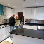 nero venata black quartz worktops