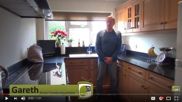 video testimonial by gareth in cambridgeshire