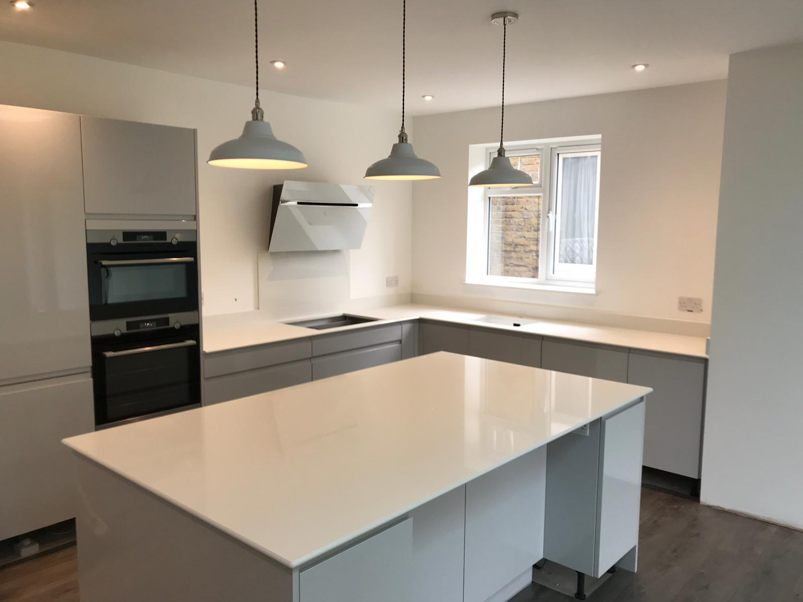 Kitchen of the week… Located in Gillingham, Kent, showcasing the Aspen De Lusso
