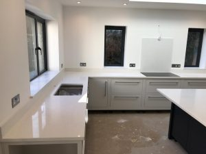 bianco marmo suprema white quartz worktops