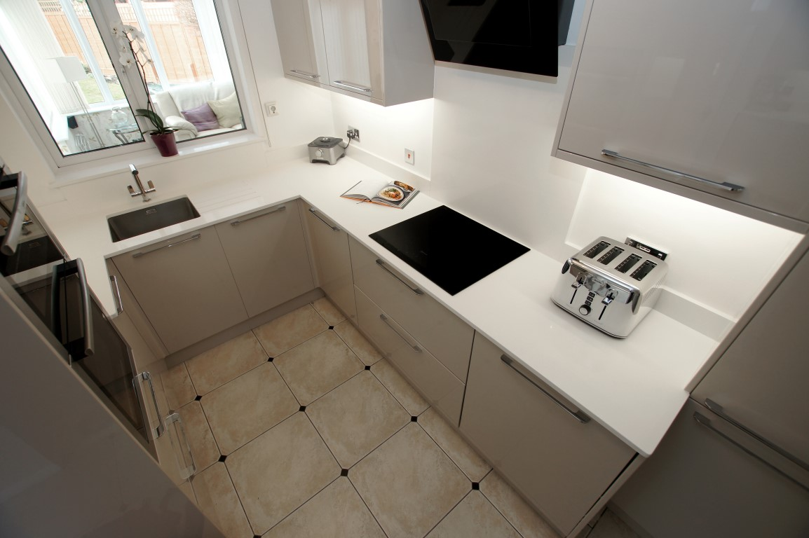 Kitchen of the week… Located in Great Amwell, Hertfordshire, showcasing the Bianco Puro