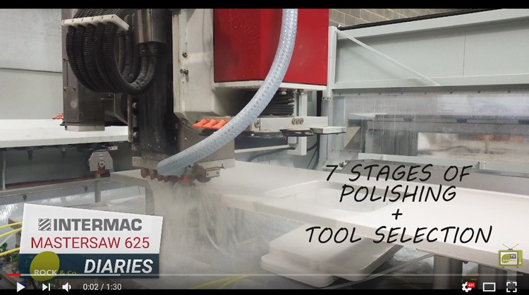 Intermac MasterSaw 625 Diaries – #002 7 Stages of Polishing & Tool Pick-up
