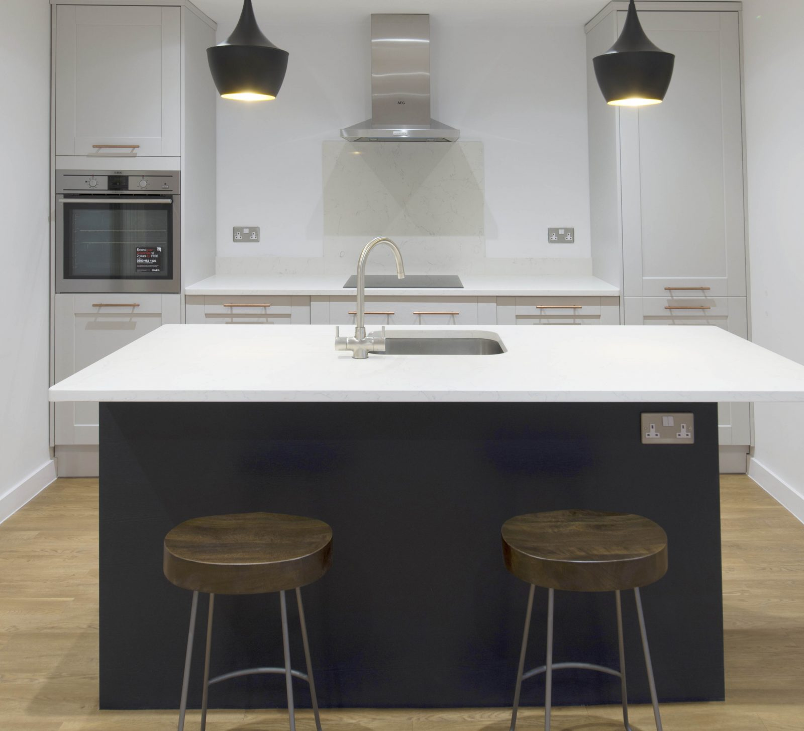 Kitchen of the week… Located in St Albans, Herts, showcasing the Carrera