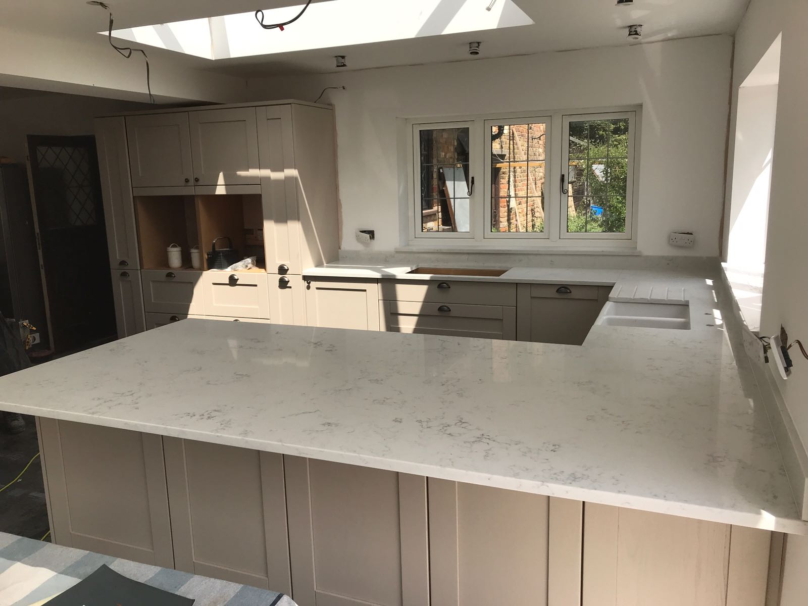 Kitchen of the week… Located in Rickmansworth, Herts, showcasing the Monaco Carrera