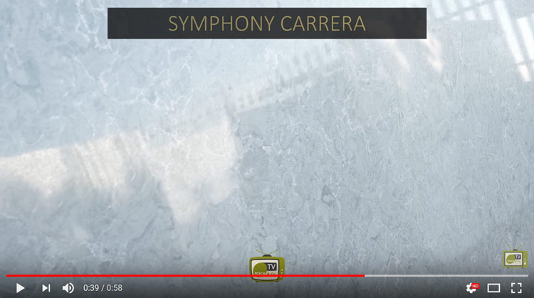 Symphony Carrera Quartz Worktop material by Urban Quartz – Brand New July 2018!