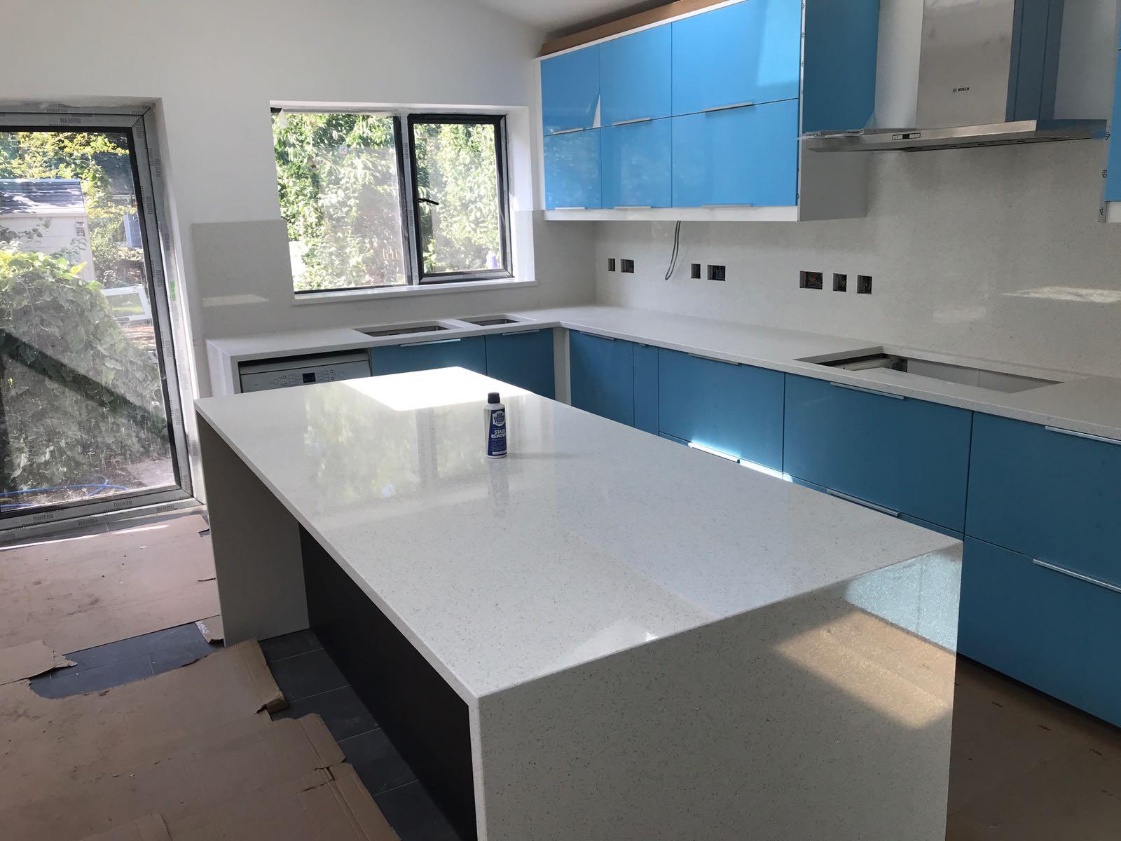 Bianco Stella- Cambridge - Rock and Co Granite Ltd
