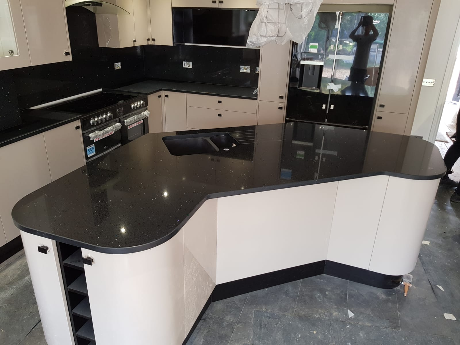 Kitchen of the week… Located in Ware, Herts, showcasing the Nero Stella
