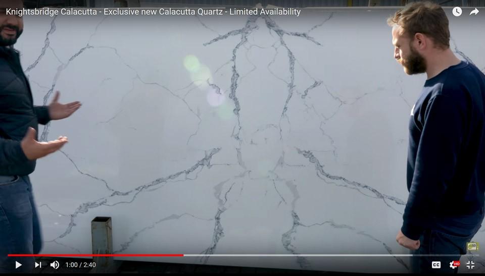 Knightsbridge Calacutta – New Quartz Material