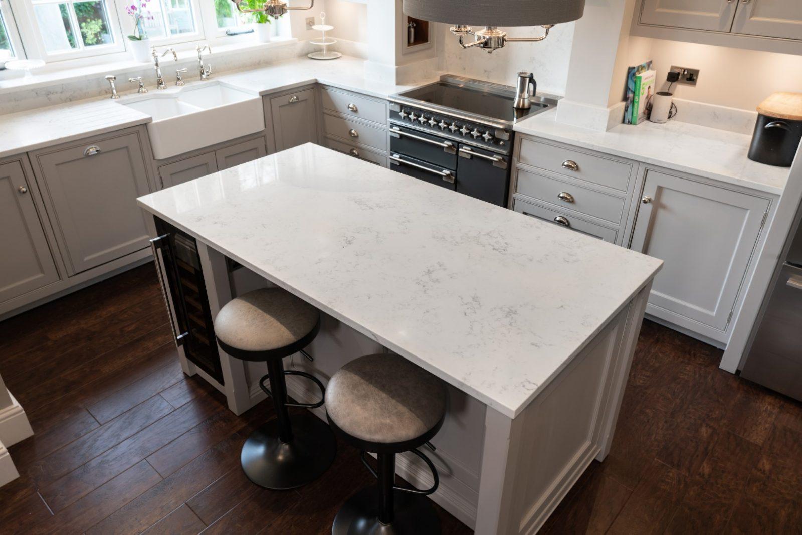 Kitchen of the week… Located in Widbury, Ware showcasing the Monaco Carrera