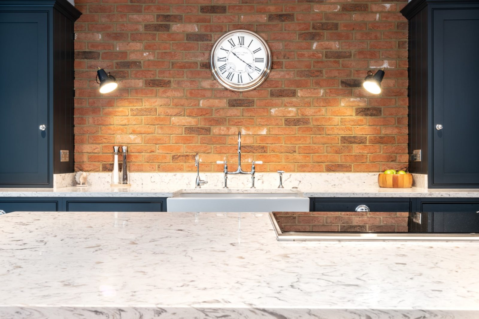 Kitchen of the week… Located in Brentwood, Essex, showcasing the Bianco Foresta