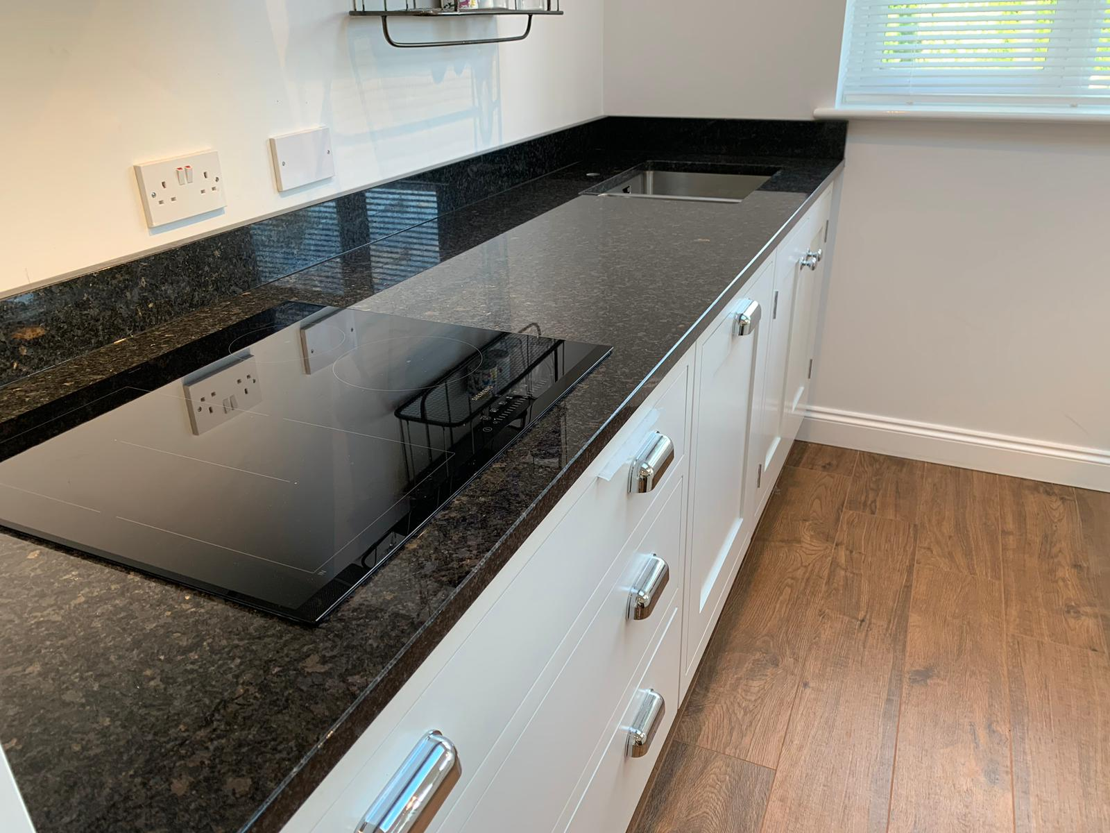 Granite Kitchen Worktop In A Kitchen